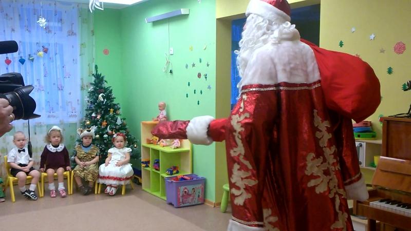 Вот и на Рутминского пришел Дедушка Мороз.