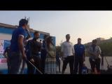 Акшай Кумар и Нимрат Каур на #walkforhealth марафон, 10.01.2016 в Мумбаи!
