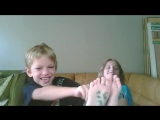 Tickle Challenge with sister