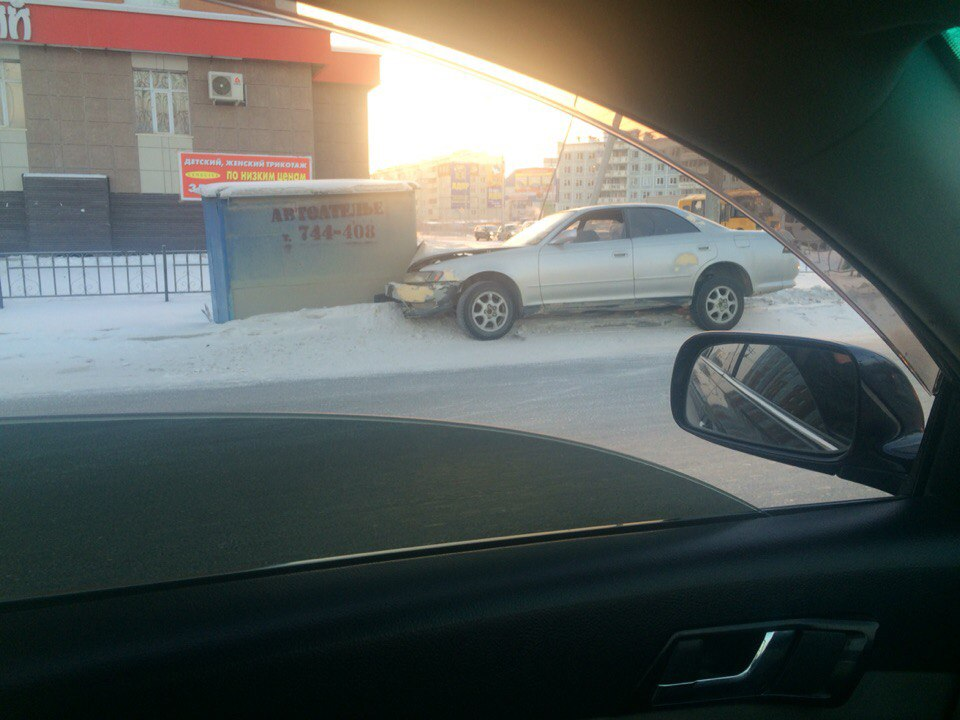 Пьяный покатушки в Якутске