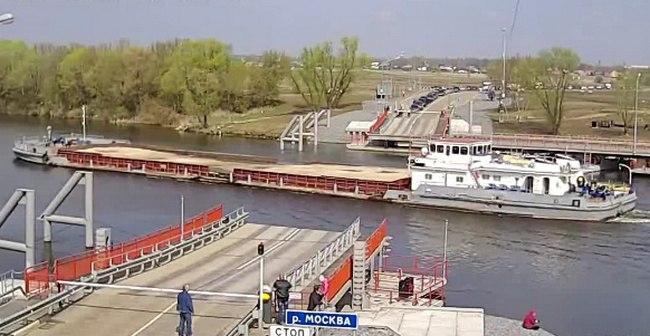 Митяевский мост в Коломне