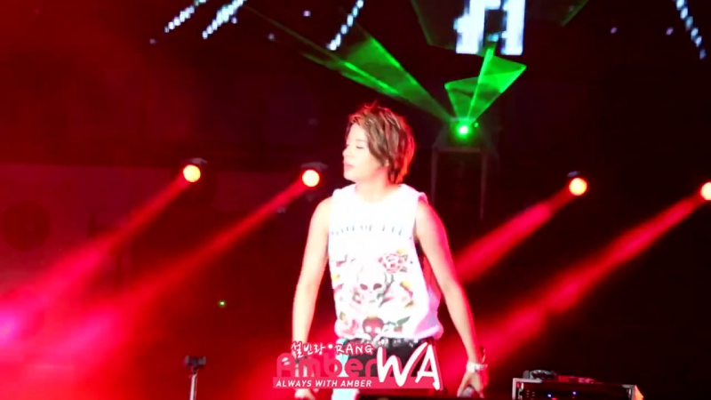 Nu ABO at Yeosu Expo Festival (120717) (Amber Focus)