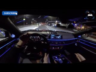 BMW 7 Series NIGHT DRIVE INTERIOR LIGHTING