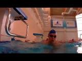 Плавание. Алексей Павлов. Вольный стиль. Swimming. Freestyle Alex Fitness