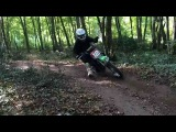 Klx 110 Brothers in da wood