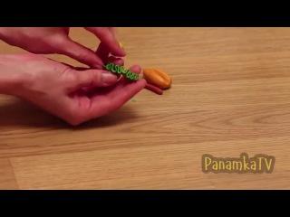 Что смешного можно сделать из пластилина ?