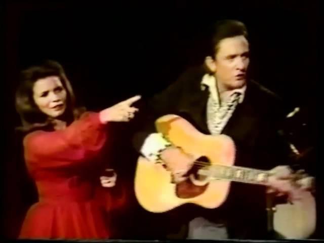 Johnny Cash and June Carter - Jackson