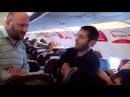 Грузины поют в самолете