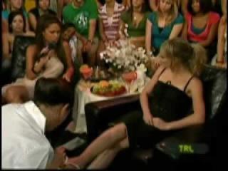 Hilary Duff foot fetish pedicure.