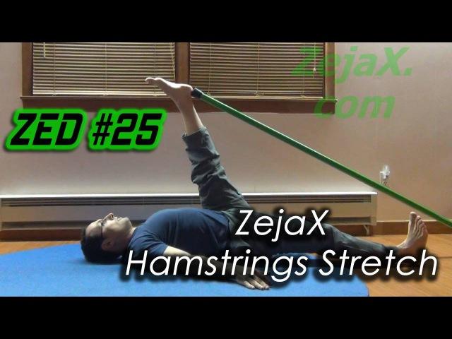 ZED 25 Hamstrings Stretch Relaxed Supine Stretch 1 ZejaX