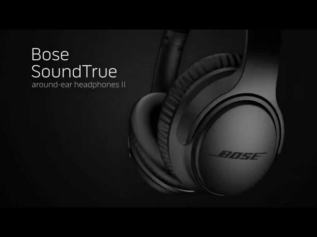Bose SoundTrue around-ear II — обновленная версия наушников от Bose (engl)