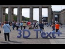Blender 3D Text auf Foto (mit Schatten) Tutorial [Deutsch] [by Geblendert]