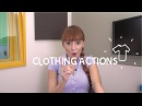 Weekly Portuguese Words with Jade Clothing Actions