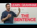 Learn English Grammar The Sentence
