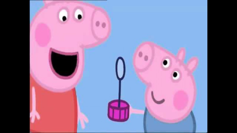Peppa Pig English Episodes / Bubbles - 2014 HD