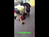 Kid getting picked on by a bully at school finally says enough. MMA . JUJITSU  FIGHT