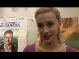 Sarah Gadon Working with James Franco on miniseries