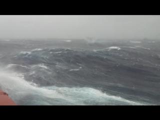 Северное море шторм 10 баллов 26 февраля 2015 года