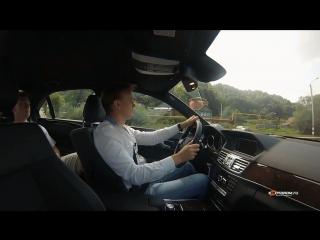 Тест-драйв Mercedes-Benz E-klasse 2013_HD