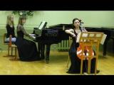 С. Прокофьев. Соната для виолончели и фортепиано До мажор. Часть 2 .