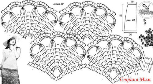Tunique aux fleurs de lis (Partie inférieure)