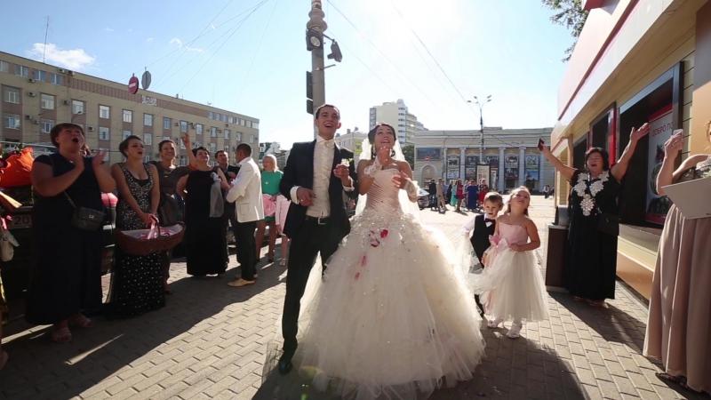 Свадебный клип Юлии и Дениса