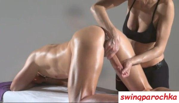 Видео массажистки член