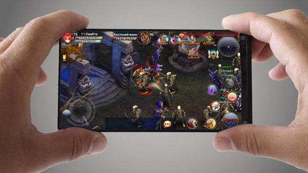 Первая мобильная MMORPG!