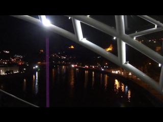 Прощальный вечер в Тбилиси. 16 сентября 2015 г. Мост Мира.