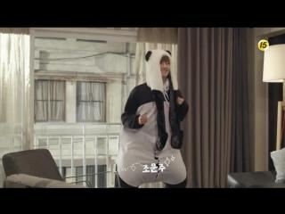 Зажигательный танец панды Ке Гыма Отрывок из дорамы Мой сосед-красавчик(1316)