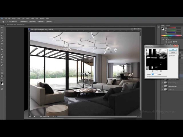 Vray Post Production