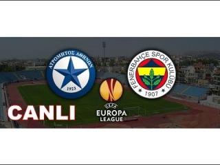 Atromitos - Fenerbahçe Canlı Tivibu spor