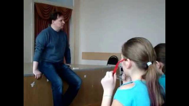 Встреча Сергея Базарова со старшеклассниками