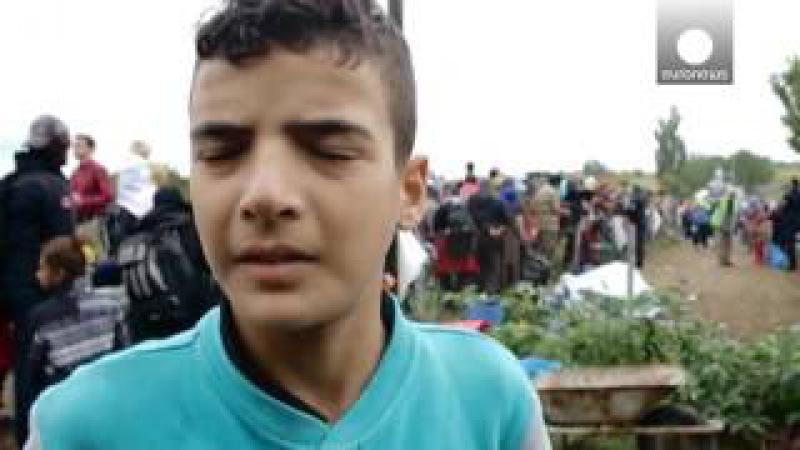 Crisis de los refugiados La melodía de paz del pequeño Aldin