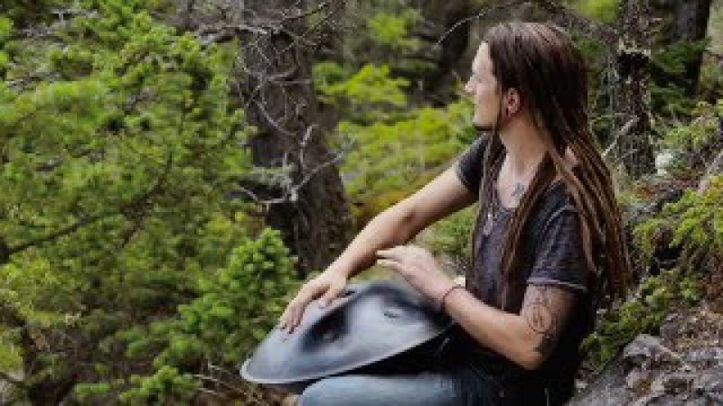 Bello Banff | A Time Lapse HandPan video | Daniel Waples - Hang in Balance | Banff | [Timelapse]