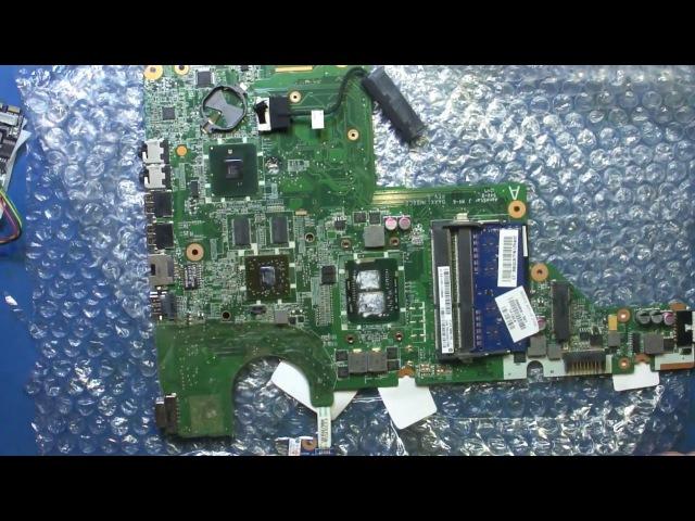 Видеоотчет ремонта ноутбука HP G62-450ER. Замена видеочипа. г. Ростов-на-Дону