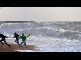 ATENCION a la ola gigante Temporal 2014 olas temporal ondas marea