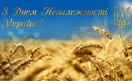 З святом, Україно! Нехай серця наповнюються гордістю за нашу державу, прагненням до єдності та порозуміння, а плідна праця буде надійною запорукою щасливого майбутнього! У єдності здобудем мир!