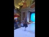 Показ одежды Маленькая леди  на неделе детской моды в Москве
