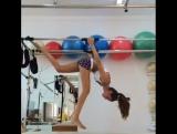 Тренируемся с Изабель Гулар 1