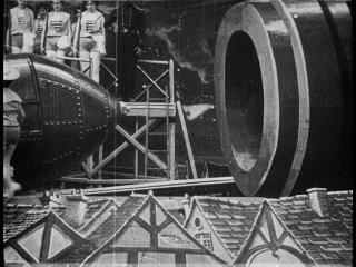 Путешествие на Луну, 1902 г. Первый научно-фантастический фильм в истории кинематографа.