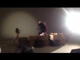 Съемки клипа Ирины Круг и Эдгара