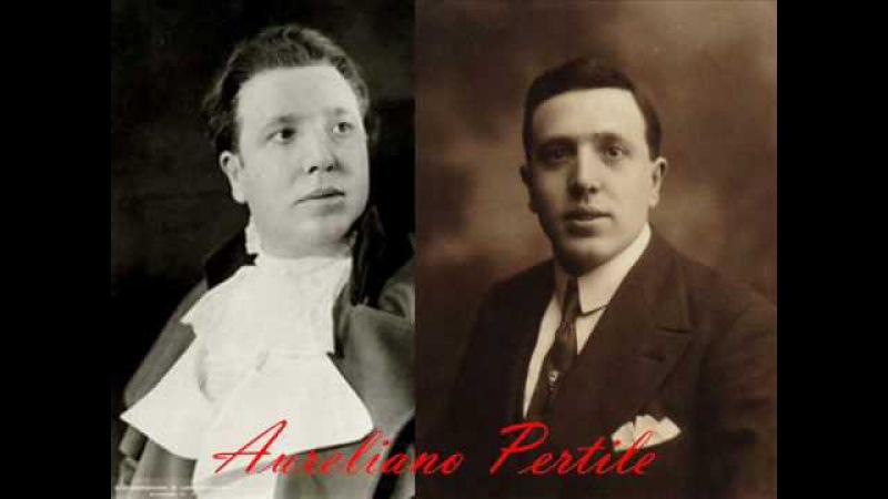 Aureliano Pertile sings Amor ti Vieta