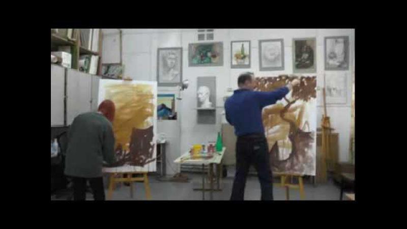 Экспрессивная живопись. Александр Жиляев