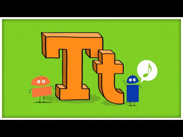 ABC Song: The Letter T, Time For T by StoryBots