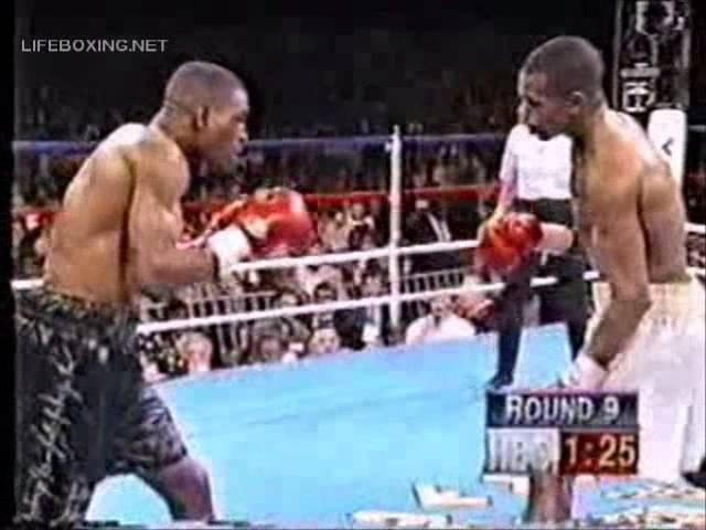 Бернард Хопкинс - Рой Джонс мл. (1 бой) 1993 05 22 Roy Jones Jr vs Bernard Hopkins