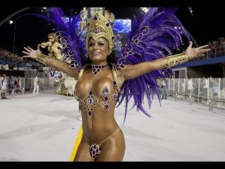 Откровенные моменты Бразильского карнавала 2015