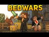 Minecraft BedWars #65 - БЕДВАРС С ЛАКИ БЛОКАМИ