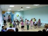 Детский танец к 23 февраля,старшая группа.Браво, ребятушки !!!