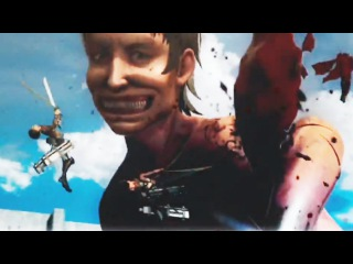 Attack On Titan Game Gameplay Trailer (PS4 / PS Vita) | Anime Games 2016